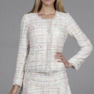 Line & Dot Size M Miss Cali Jacket Tweed Blazer